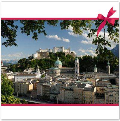 3Tage-2Pers-4-Sterne-Amedia-Hotel-Salzburg-Staedte-Reise-Kurz-Urlaub-WOW