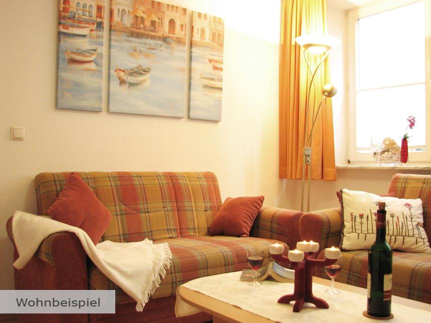 Ostsee - Ferienwohnung Villa Sirene - 8 Tage fü...