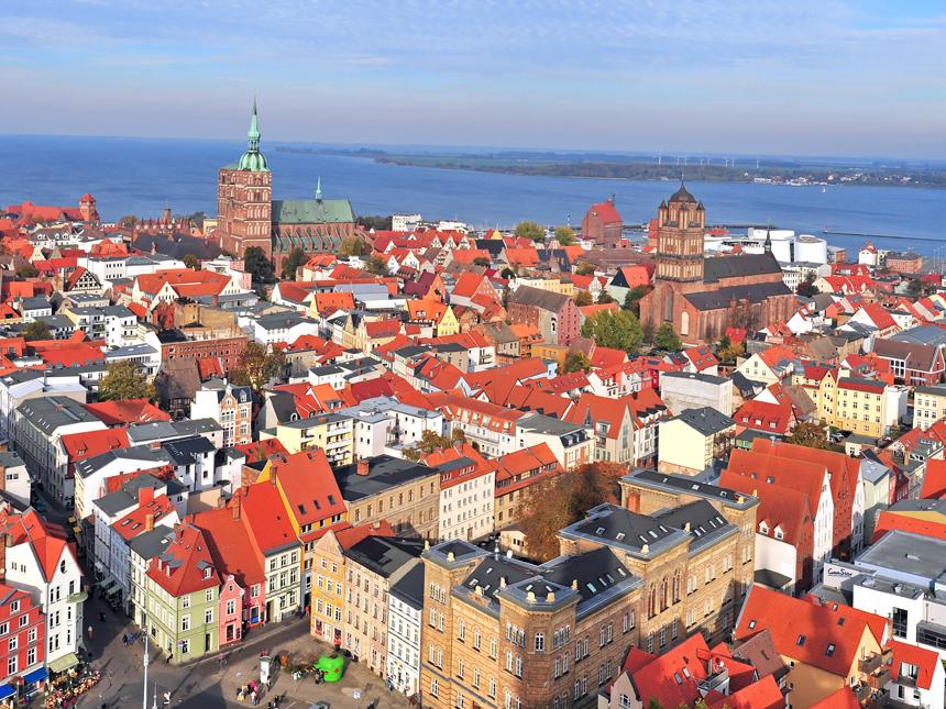 Ostsee - Ostseehotel Stralsund - 4 Tage für 2 P...